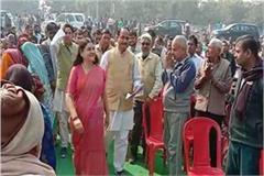 murdabad slogans against maneka gandhi