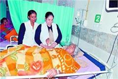 hospital s 5 member team extracts 2 5 kg binayan tumor from woman s abdomen