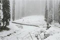 due to heavy snowfall tourists are banned from going to nehrukund