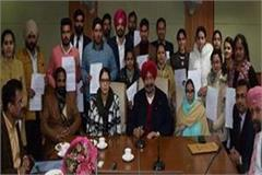 balbir sidhu handed over appointment letters to drug control officers