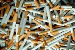 administration department raided the factory and sealed the stock of cigarettes