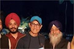 dr roop singh chief secretary shiromani committee met aamir khan in mumbai