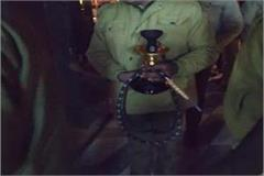 hookah bars and other objectionable items caught in the restaurant