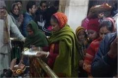 thousands of devotees visit maa jwala on new year receive auspicious blessings