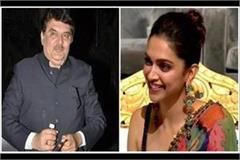 raza murad came out in support of deepika