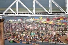 lakhs of devotees took a dip of faith on mouni amavasya in prayagraj