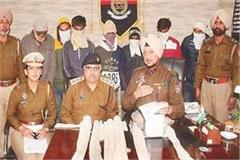 brother of terrorist raman arrested with 6 accomplices