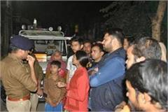 husband wife mother in law in front 3 year old daughter indore police arrests