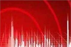 earthquake tremors felt in himachal