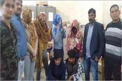 international bust 6 people 3 foreign women arrest