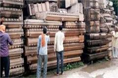 cleanliness of the carved stones for the construction of ayodhya ram temple