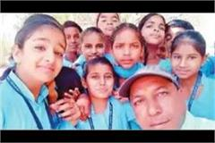 selfie with my students birthday campaign increasing the status of daughters