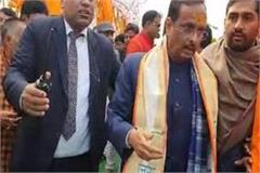 ganga visit reached meerut deputy cm departs after offering prayers
