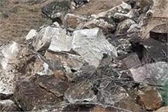 landslide in kinnaur