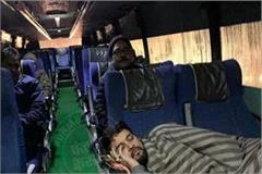 union minister of state for finance sleeping in a normal bus went viral
