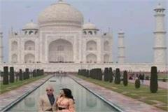 amazon founder jeff bezos crowned taj with his wife