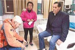 khali reached civil hospital to get dinesh s medical
