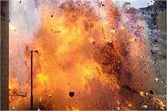 granite explodes cisf camp khargone one child kill bomb datia