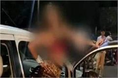 highvoltage drama drunk women detained indecency with police