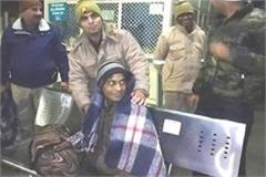 police team distributed blankets to the poor in the scorching winter