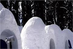 igloo in manali made by hard work of two youths