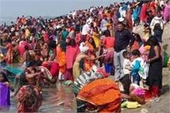 prayagraj people started new year with a dip of faith in sangam
