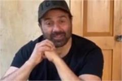 sunny deol seen after missing poster