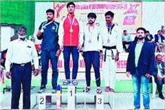 mohit brightens name of state in taekwondo game at national level