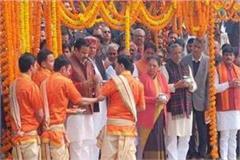 bijnor cm yogi inaugurates 5 day ganga yatra