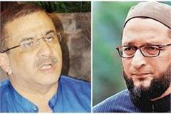 wasim rizvi said  owaisi brothers  grandfathers built taj mahal for their laila
