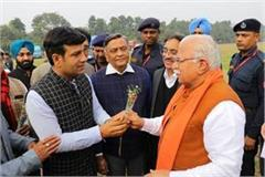 chief minister manohar lal khattar reached jalandhar