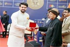 anurag thakur get champions for change award