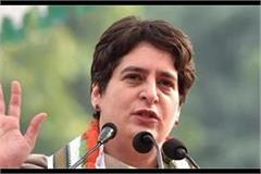 priyanka gandhi stopped from visiting meerut for the second time