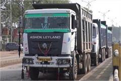 major adm action illegal sand quarrying hoshangabad 36 vehicles seized