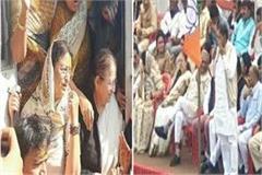 police detain hundreds bjp leaders sumitra mahajan rakesh siege collectorate