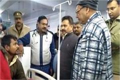 hamirpur minister arrives to inspect sadar hospital surprise