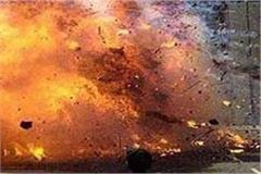 terrible explosion in firecracker factory in shamli 4 people dead