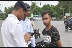 traffic police tighten the screws on those who fired bullet crackers