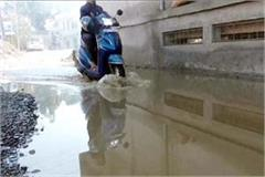govind vihar colony became a pond in paonta