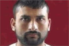 a picture of ashu jat the main accused in the gaurav chandel