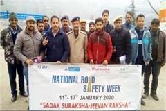road safety week in bhuntar