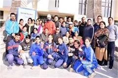 floorball training completed in bilaspur
