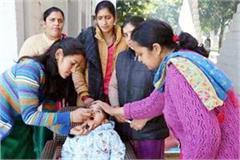 pulse polio campaign in sundernagar