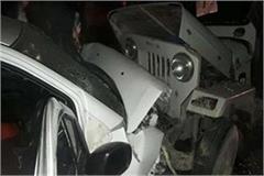 car and jeep horrific 3 killed