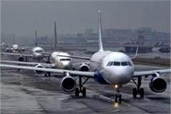 amritsar airport many flights lie at