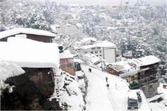 heavy snow will held on this day in himachal