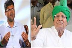 dushyant posed a daunting question to dada om prakash chautala