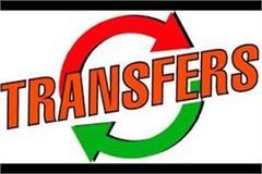 8 tehsildars transferred in punjab