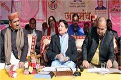 minister sarveen chaudhary in solan