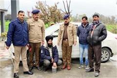 smuggler arrested with 1 735 kg of opium